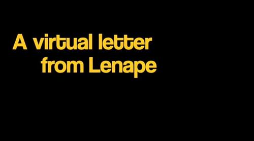 Virtual Letter from Lenape